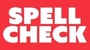 Spanish spelling check