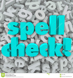 Be Sure You Are Using Right Spelling Correction Software