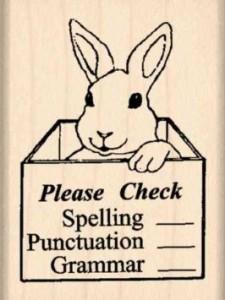 check my spelling